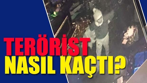 Terörist nasıl kaçtı?