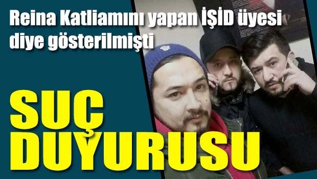 Reina Katliamcısı diye gösterilen Kazak Türkünden suç duyurusu
