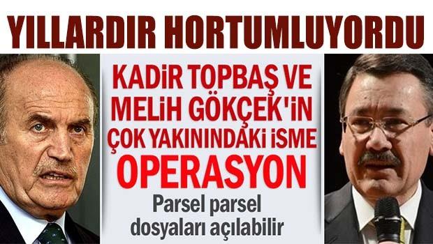 Yıllardır Belediyeleri hortumlayan İlbak Holding'e baskın
