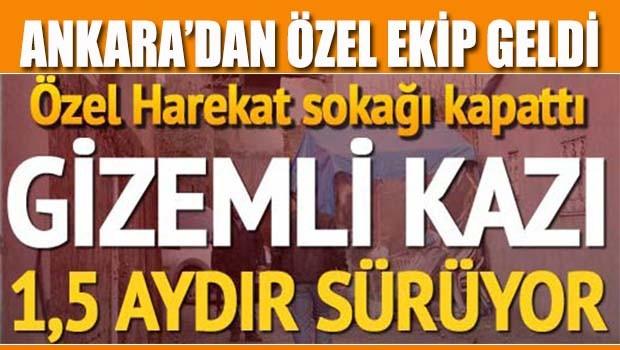 Tarsus'ta gizemli kazı!