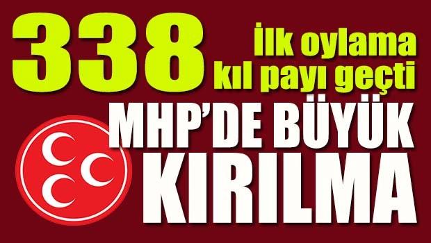 MHP'de büyük kırılma!