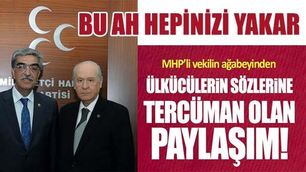 Kardeşi MHP'li vekile böyle seslendi!