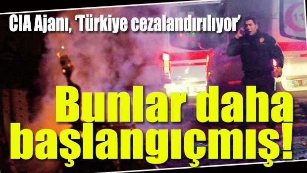 CIA ajanı Steele, 'Türkiye cezalandırılıyor'