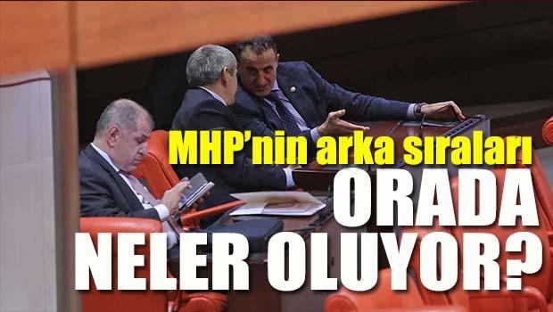 MHP'nin arka sıraları, 'Orada neler oluyor?'