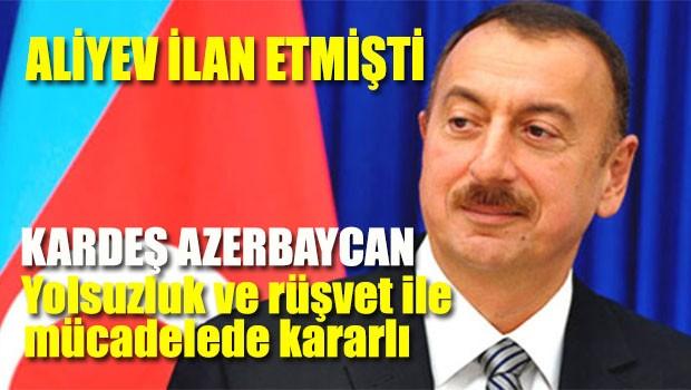 Azerbaycan yolsuzluk ve rüşvet ile mücadelede kararlı