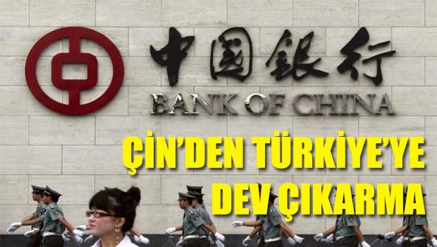 Çin'den Türkiye'ye dev çıkarma