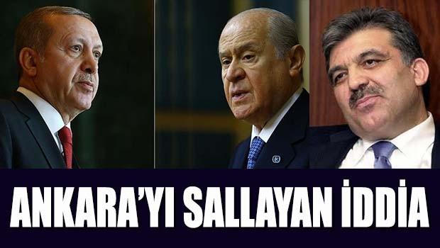 Ankara'yı sallayan iddia!