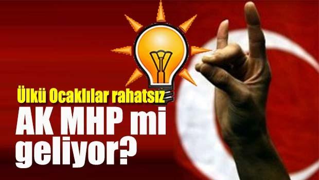 AK MHP mi geliyor?