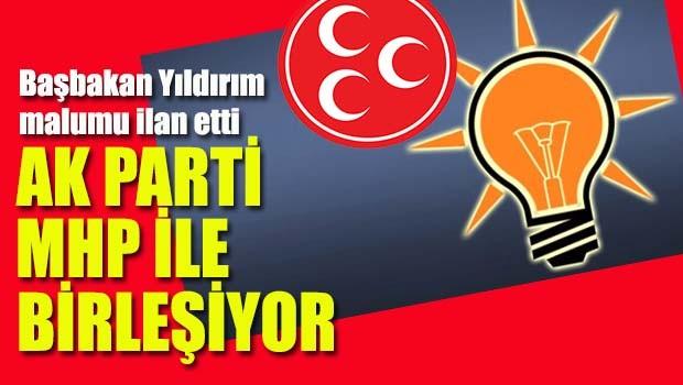 AK Parti MHP ile birleşiyor