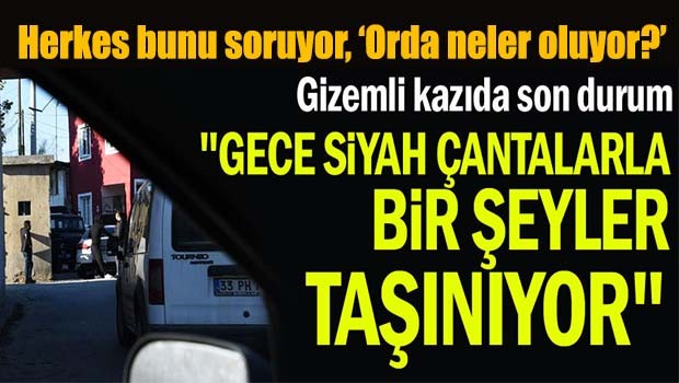 Tarsus'taki kazı gizemini koruyor!