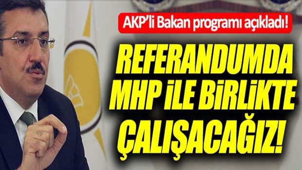 AK Partili Bakan, 'MHP ile birlikte çalışacağız'