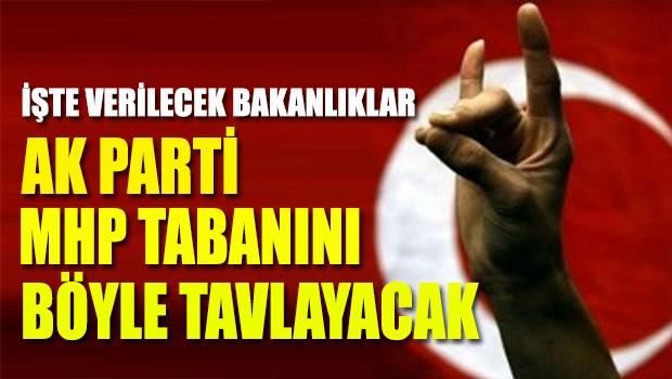 AK Parti MHP tabanını böyle tavlayacak!