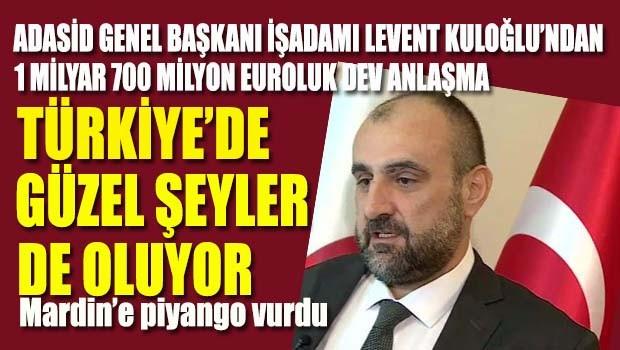 Türkiye'de güzel şeyler de oluyor… Krize meydan okuyan adam Levent Kuloğlu