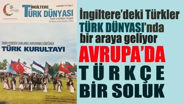 Avrupa'da Türkçe bir soluk