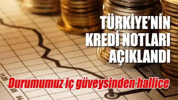 Türkiye'nin kredi notları açıklandı