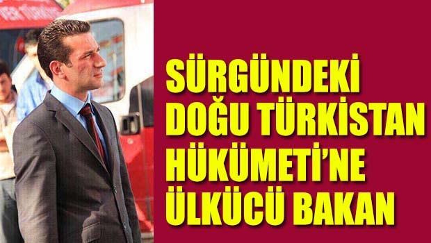 Sürgündeki Doğu Türkistan Hükümeti'nde ülkücü bakan