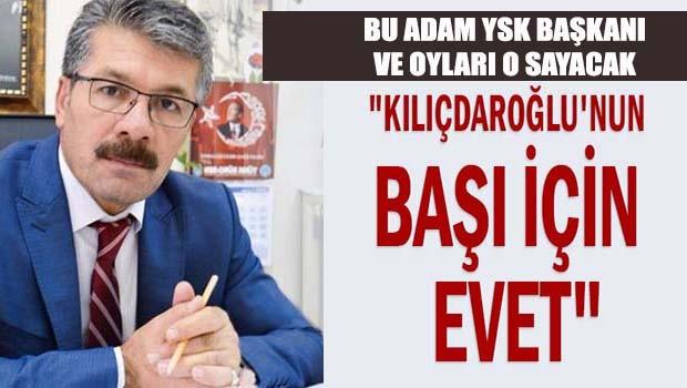 YSK Malatya Başkanından inanılmaz paylaşım!