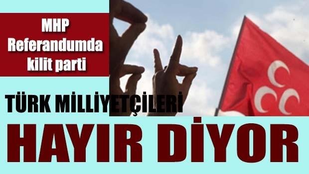 Türk Milliyetçileri 'HAYIR' diyor!