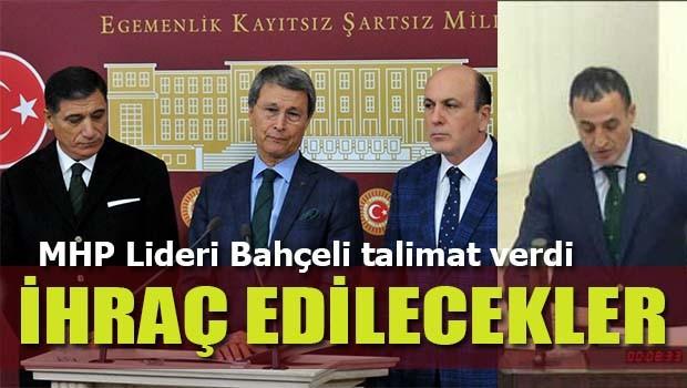 Bahçeli talimat verdi MHP'li hayırcı milletvekilleri ihraç edilecek!