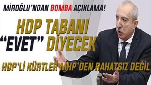 HDP tabanı evet diyecek!