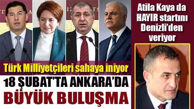 Türk Milliyetçileri Ankara'da buluşuyor!