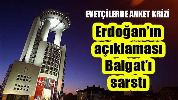 Erdoğan'ın açıklamaları Balgat'ı sarstı!