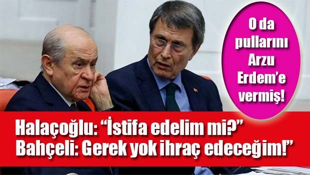Yusuf Halaçoğlu Bahçeli ile ne konuştuğunu açıkladı!