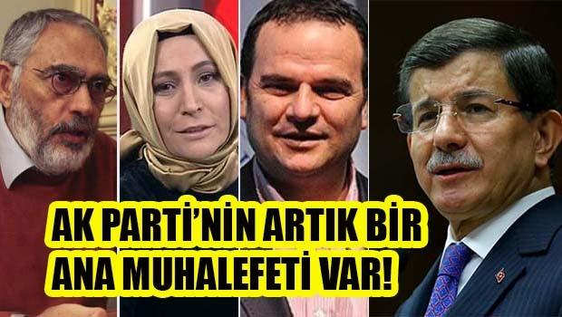 AK Parti'nin artık bir ana muhalefeti var!