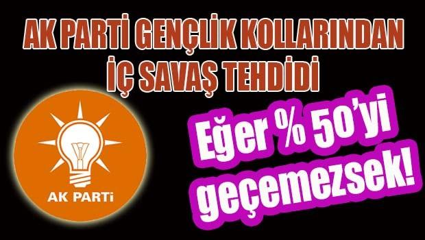 AKP Gençlik Kolları Konferansı'nda iç savaş tehdidi