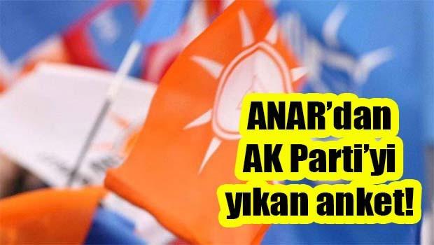 ANAR'dan AK Parti'yi yıkan anket
