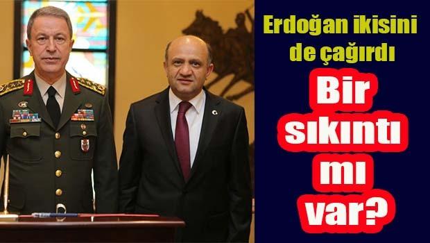 Cumhurbaşkanı, Genelkurmay Başkanı Akar ve Bakan Işık ile görüşecek