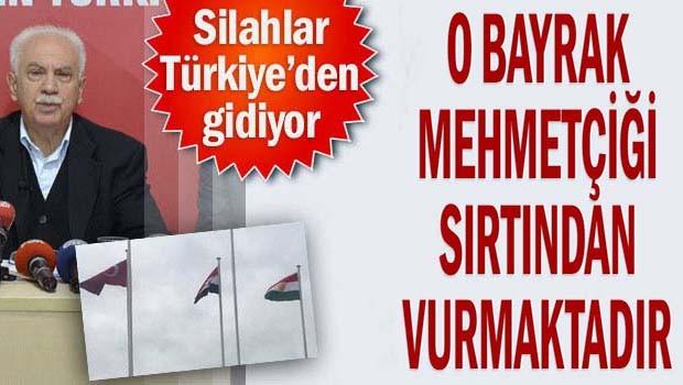 Doğu Perinçek'ten sözde 'Kürdistan' bayrağı açıklaması