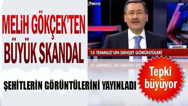 Melih Gökçek'ten skandal yayın!