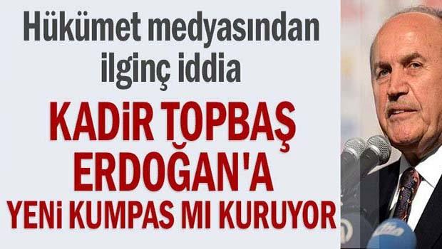 Kadir Topbaş Erdoğan'a yeni kumpas mı kuruyor!