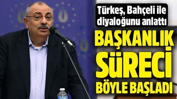 Tuğrul Türkeş, Bahçeli ile başkanlık diyaloğunu açıkladı