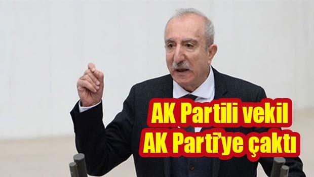 AK Parti Milletvekili Miroğlu, AK Parti'ye çaktı