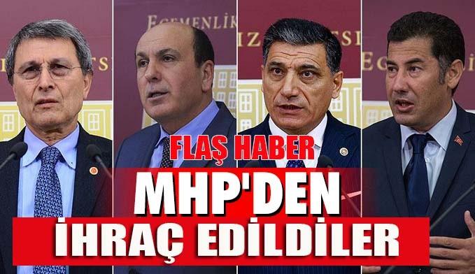 MHP'de ihraç depremi... Hepsi partiden atıldı!
