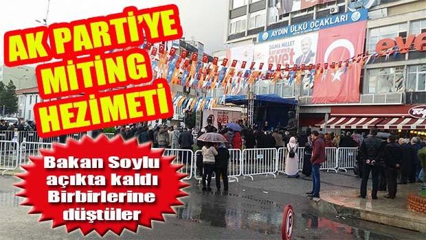 AK Parti'de miting hezimeti!
