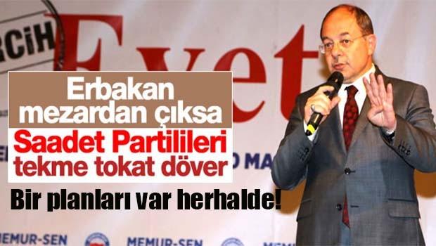 Sağlık Bakanı Erbakan üzerinden Saadet Partisi'ne yüklendi!