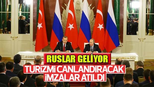 İMZALAR ATILDI, RUSLAR GELİYOR
