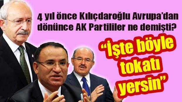 4 yıl önce Kılıçdaroğlu, Avrupa'dan dönünce AK Parti ne demişti?