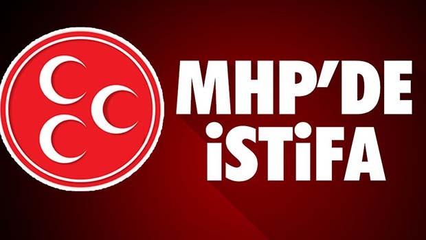 MHP'de HAYIR istifaları sürüyor!