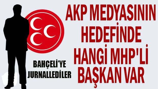 Yandaş medya MHP'li başkanı Bahçeli'ye jurnalledi!
