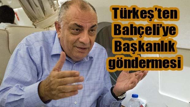 Tuğrul Türkeş'ten Bahçeli'ye 'Başkanlık' göndermesi!