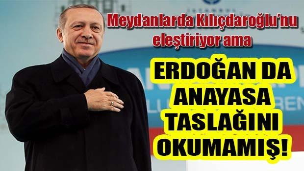 Erdoğan'ın 'Fesih yetkisi yok' sözünü AK Parti'nin referandum kitapçığı yalanladı