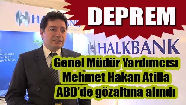 Halkbank Genel Müdür Yardımcısı ADB'de gözaltına alındı!