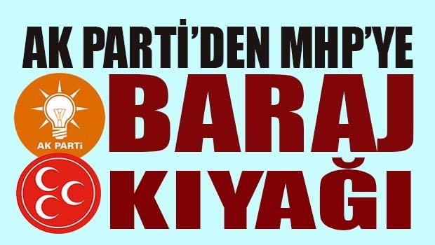 AK Parti'den MHP'ye baraj kıyağı!