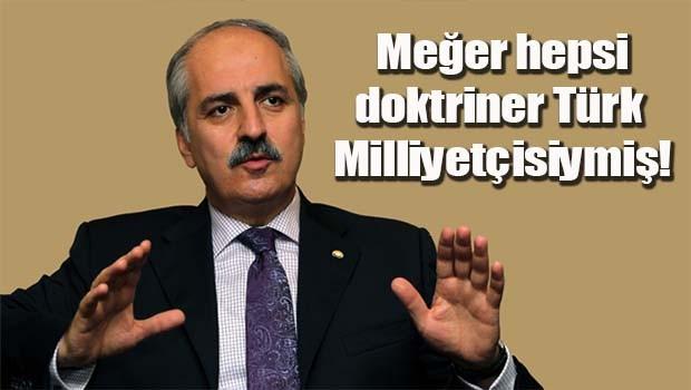 Meğer hepsi doktriner Türk Milliyetçisiymiş!