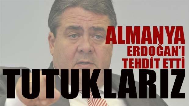Almanya Erdoğan'ı 'tutuklamakla' tehdit etti!
