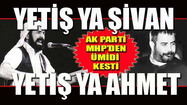 AK Parti MHP'den ümidi kesti!